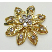 Small Shoe Trim, Formas de Flores Rhinestone Shoe Clips